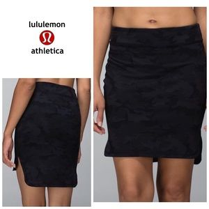 Lululemon City Skirt - camo